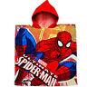 Poncho de Bain/Serviette avec Capuche - Spider-Man - 100% Coton - 60 cm 120 - 2