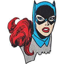 Batgirl Headshot Embroidered Patch / Iron On Applique, Superhero, DC Comics