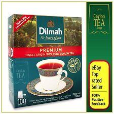 Dilmah Premium 100 bags per pack  - The Single Origin Pure Ceylon Tea