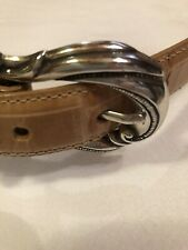 Coldwater Creek Leather Belt