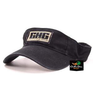 AVERY OUTDOORS GREENHEAD GEAR GHG LOGO VISOR HAT CAP BLACK
