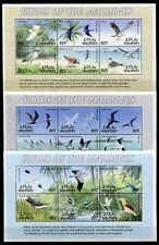 MALEDIVEN MALDIVE 2002 Vögel Birds Uccelli Oiseaux 3905-3928 + Block 511-514 **