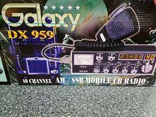 Galaxy Dx 959 Ssb 40 Channel Cb Radio