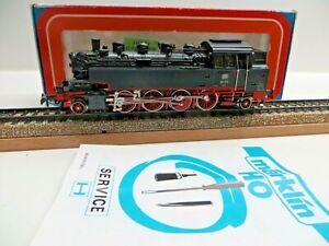 Märklin H0 3096 Steam Locomotive Br 86 173 DB Telex Sides Illuminated Boxed