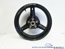SUZUKI GSXR600 GSXR750 SV1000 BLACK REAR WHEEL RIM ROTOR 00 01 02 03 04 05 / 07