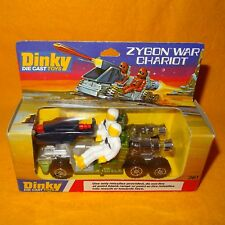 VINTAGE 1979 DINKY TOYS 361 ZYGON WAR CHARIOT DIE CAST SPACE VEHICLE BOXED