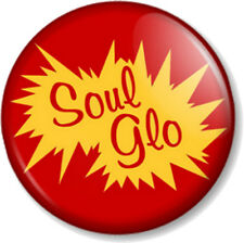 "Soul Glo Coming to America 1"" Pin Button Badge Movie Hair Glow 80s Eddie Murphy"
