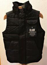 G-Star Wolker Padding Vest Raw Indigo Herringbone Denim Weste  S  Neu