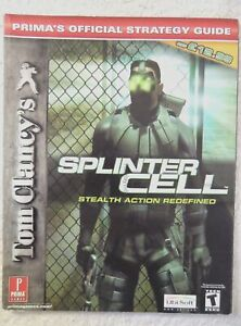 22761 Strategy Guide - Tom Clancy's Splinter Cell Stealth Action Redefined