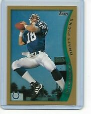 Peyton Manning 1998 Topps Rc #360 Indianapolis Colts