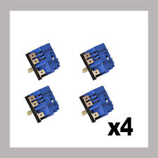4  x  GENUINE SIMMERSTAT CONTROL SWITCH MP101-k HOTPLATE COOKTOP - 0534001654