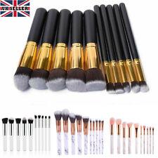 10 PCS Kabuki Make up Brush Set Make-up Brushes Foundation Blusher Face Powder