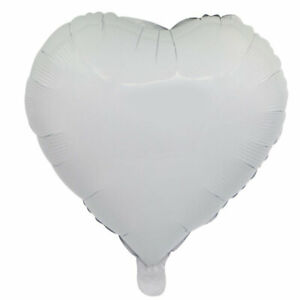 "18"" Heart Helium Balloon Baby Shower Hen Party Happy Birthday Wedding Confetti"
