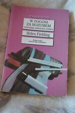 Polskie Helen Fielding Dziennik Bridget Jones W pogoni za rozumem Polish book