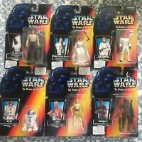 Star Wars - Power Of The Force Action Figure Lot Of 6 (Kenner, 1995, Lucasfilm)