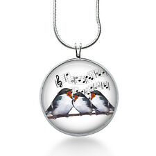 Birds on branch  Singing necklace- christmas gifts for  her - necklaces women