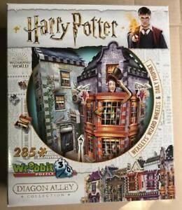 ~ HARRY POTTER ~ Weasley's Wizard Wheeze's & Daily Prophet ~ Wrebbit 3D Puzzle ~