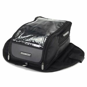 BikeTEk Magnetic Urbano Tank Bag For Motorcycle Motorbike - Converts To Rucksack
