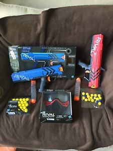 Nerf Rival Lot Guns Mask Ammo