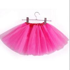 Cute Girls&Kids Dance Tutu Tulle Skirt Petti skirt Ballet Party Fancy Costume 1X