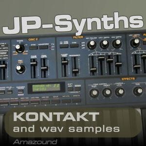 JP8000 SAMPLES for KONTAKT 400 NKI 3000 WAV 24b 2.8 GB MAC PC LOGIC TOP DOWNLOAD