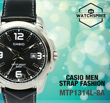 Casio Strap Fashion Men's Watch MTP1314L-8A