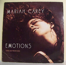 MAXI 45T Mariah CAREY Disque EMOTIONS Three - Mix Twelve inch COLUMBIA 6574039