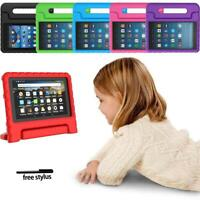 "For Amazon Fire 7"" HD 8"" Tablet -ShockProof EVA Handle Kids Stand Cover Case"