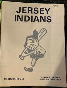 1977 Jersey City Indians Scorecard Eastern League