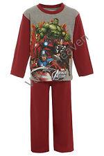 Niños Vengadores 100% Pijama de Algodón Iron Man Hulk Thor Captain America