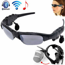 MP3 Player+Bluetooth Sunglasses Glass Sun Glasses Headphone For Phone/Tablet
