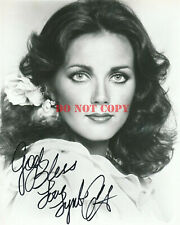 Lynda Carter Signed 8x10 Photo Autograph reprint