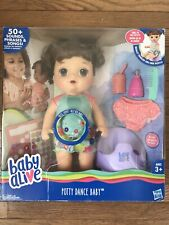 Baby Alive Potty Dance Talking Brown Hair Doll