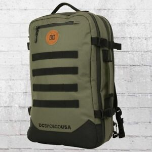 DC Shoes Rucksack Turbine oliv grün Reisetasche Backpack Travel Pack