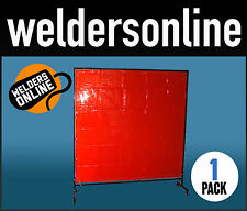 WELDING SCREENS COMPLETE READY FOR ASSEMBLY - (Red)  Free Delivery