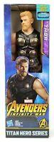 "Marvel Titan Hero Series Avengers Infinity War Thor Hasbro Action Figure 12"" New"