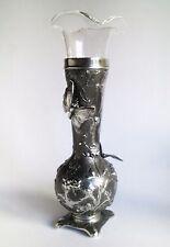 WMF Art Nouveau/jugendstil vase with butterflies cca. 1900