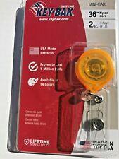 Key-Bak MINI-BAK Retractable Badge Holder with 36