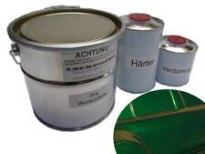 8 litres Kit 2K bootslack vert foncé metallique peinture de Yacht lackpoint