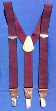 Classic Vintage PCT Clipon Braces M. I. Germany