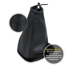 Schaltsack Schaltmanschette für Seat Alhambra 1996-2000 Echtes Leder schwarz