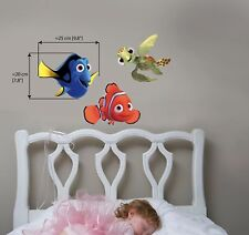 FINDING NEMO DORY Wall Stickers Sea Fish Bedroom Bafhroom Decor Children  3XA4