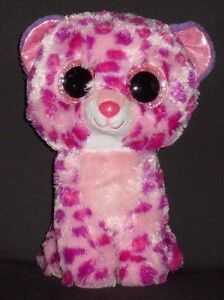 """TY BEANIE BOOS - GLAMOUR the 9"""" LEOPARD - NO HANG TAG"""