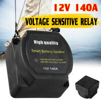 12V 140A Voltage Sensitive Relay Dual Battery Isolator Protection IP67 M6 Studs