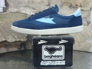 Vintage 1980s Bagheera Durango UK10.5 EU45 Deadstock Sneakers OG Sweden Trainers