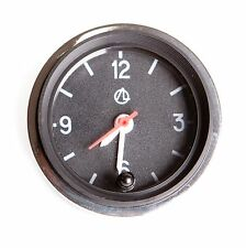 Luch Quartz Car Dashboard Clock Round. Retro, Restoration, old school. 12V 2021