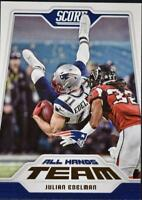 2018 Score Football All Hands Team Insert Singles (Pick Your Cards)