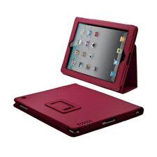Housse coque etui pour Apple Ipad de luxe avec couvercle intelligent couleur ros