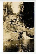 Smalls Falls—Phillips ME Antique RPPC Sepia Real Photo 1910s