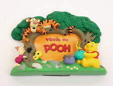 Winnie The Pooh Picture Frame 3 D Retired Disney 3 D Tigger Piglet Hunny GREAT